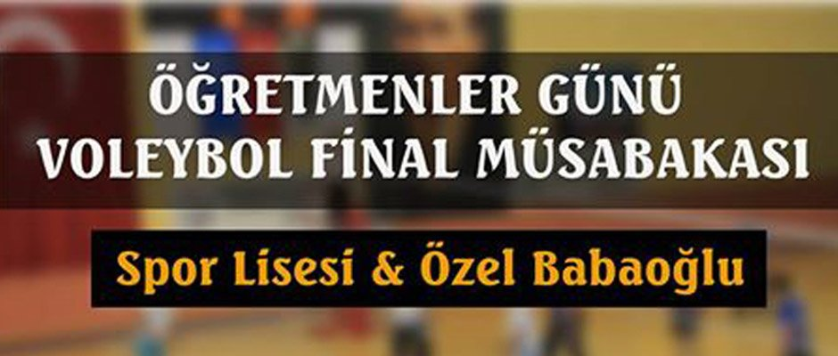 FİLEDE DEV FİNAL