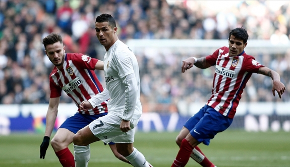 Madrid derbisi Atletico'nun