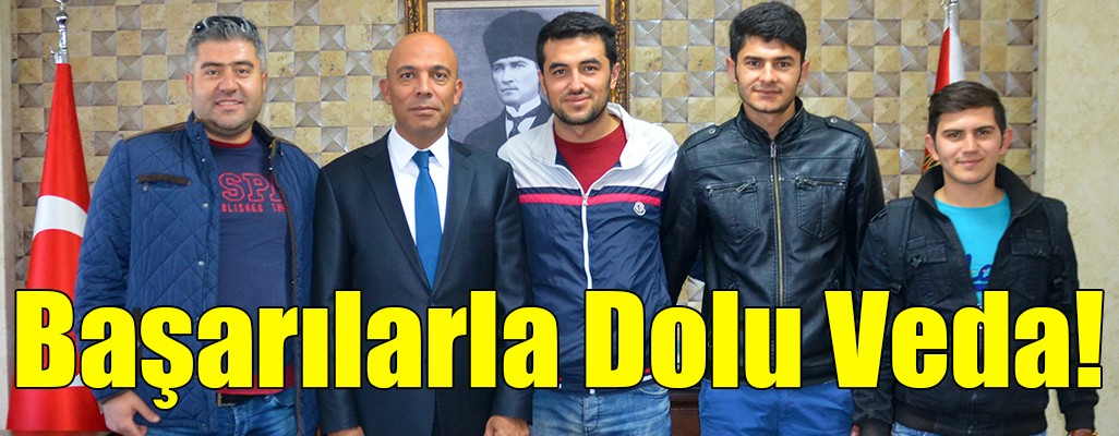 Başarılarla Dolu Veda!