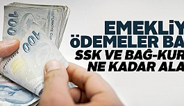 Emeklilere ödemeler başlıyor!